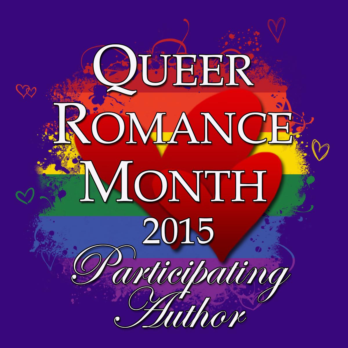 Queer Romance Month - Participating Author